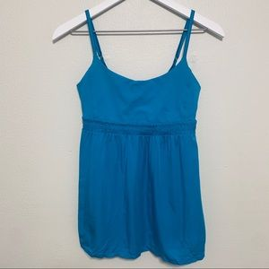 {Lululemon} Turquoise Bliss Tank Top